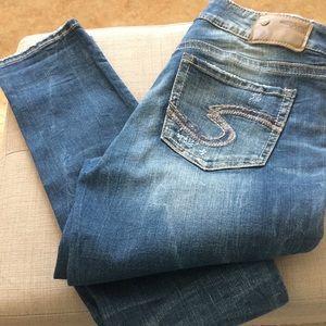 Silver suki mid skinny jeans W27/L31